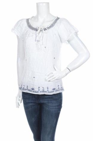 Γυναικεία μπλούζα Ellen Amber, Μέγεθος M, Χρώμα Λευκό, 100% βαμβάκι, Τιμή 6,82€