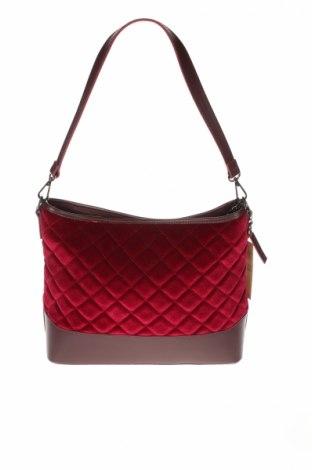 Dámska kabelka  Chicca Borse, Farba Ružová, Textil, pravá koža , Cena  20,41€