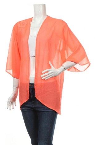 Дамска жилетка, Размер M, Цвят Оранжев, Цена 5,29лв.