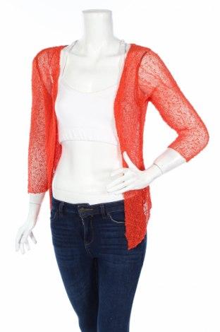 Дамска жилетка Chris Line, Размер M, Цвят Оранжев, Полиестер, Цена 5,52лв.