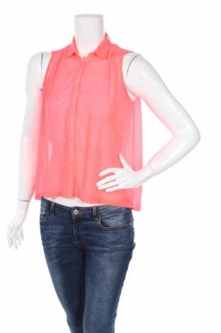 Γυναικείο πουκάμισο H&M Divided, Μέγεθος S, Χρώμα Ρόζ , Πολυεστέρας, Τιμή 2,76€