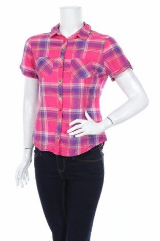 Дамска риза Lc Waikiki, Размер M, Цвят Многоцветен, Памук, Цена 14,28лв.