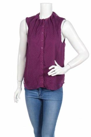 Дамска риза Vero Moda, Размер L, Цвят Лилав, Полиестер, Цена 8,13лв.