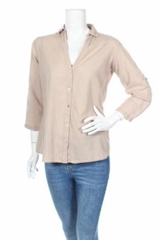 Дамска риза Y.Yendi, Размер M, Цвят Бежов, Памук, Цена 4,50лв.
