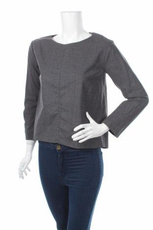 Γυναικεία αθλητική μπλούζα COS, Μέγεθος XS, Χρώμα Γκρί, 96% μαλλί, 4% ελαστάνη, Τιμή 32,16€