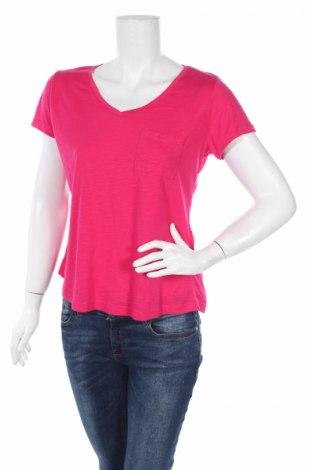 Дамска тениска Lc Waikiki, Размер XL, Цвят Розов, 65% полиестер, 35% вискоза, Цена 12,29лв.
