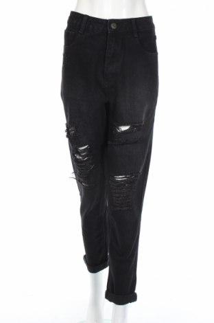 Дамски дънки The Rockn Rev, Размер L, Цвят Черен, 100% памук, Цена 41,76лв.