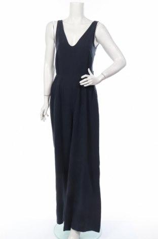 Γυναικεία σαλοπέτα Zara Trafaluc, Μέγεθος M, Χρώμα Μπλέ, 79% lyocell, 21% λινό, Τιμή 18,35€