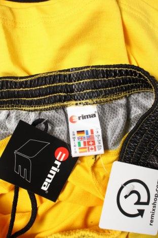 Дамски къс панталон Erima, Размер S, Цвят Жълт, 70% памук, 30% полиестер, Цена 3,06лв.