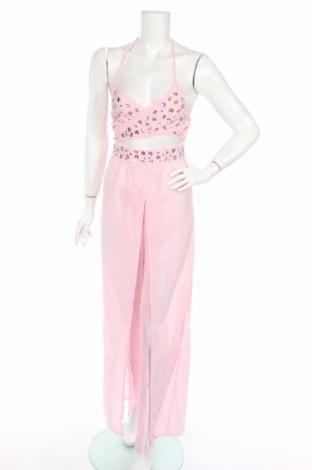Дамски комплект Boohoo, Размер S, Цвят Розов, Полиестер, Цена 43,20лв.