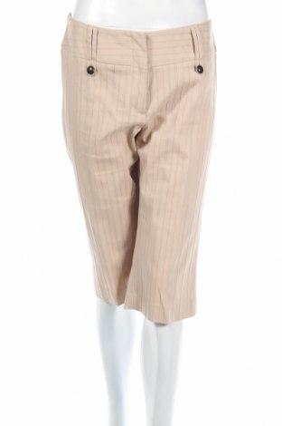 Дамски панталон Casa Blanca, Размер M, Цвят Бежов, 67% памук, 30% полиестер, 3% еластан, Цена 3,00лв.