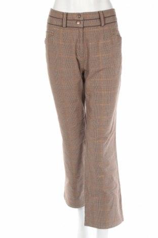 Дамски панталон Clara Vitti, Размер L, Цвят Кафяв, 99% памук, 1% полиестер, Цена 6,00лв.