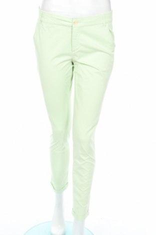Pantaloni de femei Massimo Dutti, Mărime M, Culoare Verde, Bumbac, Preț 34,21 Lei