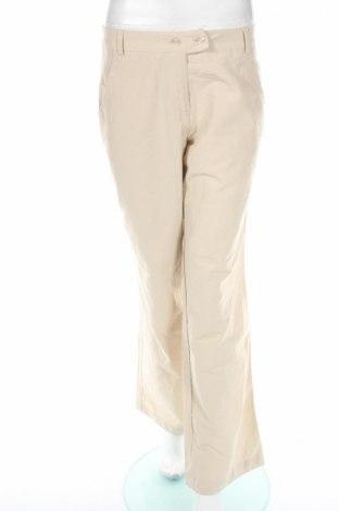 Γυναικείο παντελόνι Rainbow, Μέγεθος M, Χρώμα  Μπέζ, 55% βαμβάκι, 45% πολυαμίδη, Τιμή 7,97€