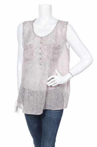 Γυναικείο αμάνικο μπλουζάκι Soya Concept, Μέγεθος L, Χρώμα  Μπέζ, Πολυεστέρας, Τιμή 3,00€