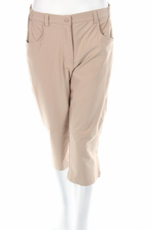 Дамски спортен панталон Crane Sports, Размер M, Цвят Бежов, Цена 3,12лв.