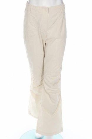 Дамски спортен панталон H&M L.o.g.g, Размер L, Цвят Бежов, 69% памук, 31% полиамид, Цена 3,08лв.