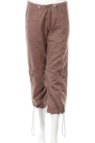 Дамски спортен панталон S:aix, Размер S, Цвят Бежов, 62% полиестер, 22% памук, 16% полиамид, Цена 3,12лв.