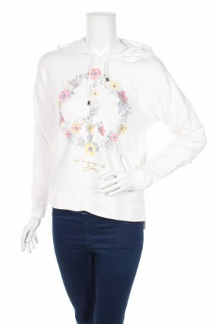 Dámska mikina  Comma,, Veľkosť M, Farba Biela, 92% bavlna, 8% elastan, Cena  20,29€
