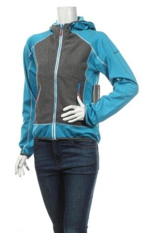 Дамски суичър Icepeak, Размер M, Цвят Син, 95% полиестер, 5% еластан, Цена 46,20лв.