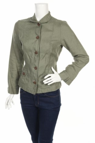 Дамско сако Anne Weyburn, Размер S, Цвят Зелен, 100% лен, Цена 10,40лв.
