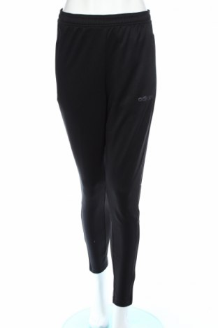 Γυναικείο αθλητικό παντελόνι Adidas, Μέγεθος S, Χρώμα Μαύρο, Πολυεστέρας, Τιμή 22,27€