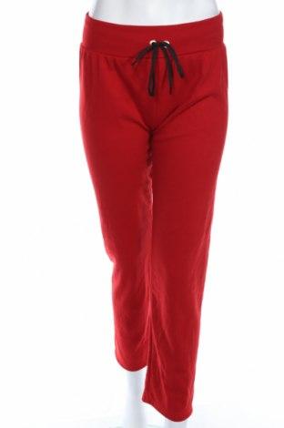 Γυναικείο αθλητικό παντελόνι, Μέγεθος L, Χρώμα Κόκκινο, 95% πολυεστέρας, 5% ελαστάνη, Τιμή 7,42€
