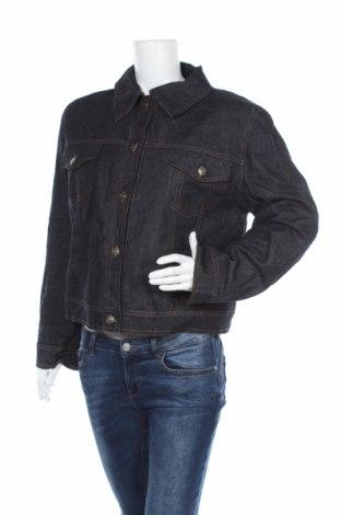 Дамско яке, Размер XL, Цвят Син, Памук, Цена 16,52лв.