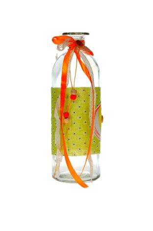 Декоративно шише, Цвят Многоцветен, Стъкло, Цена 16,80лв.