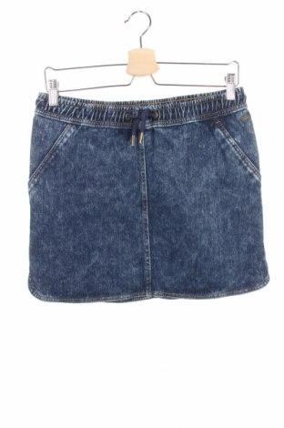 Детска пола Tom Tailor, Размер 15-18y/ 170-176 см, Цвят Син, 94% памук, 6% еластан, Цена 10,50лв.