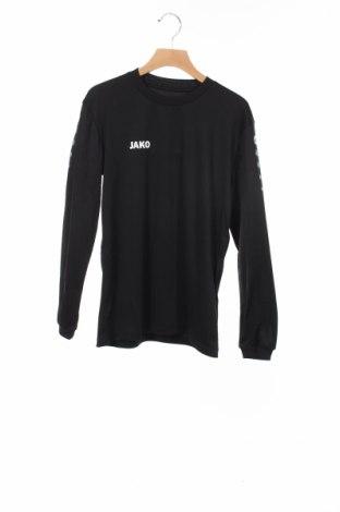 Детска спортна блуза Jako, Размер 11-12y/ 152-158 см, Цвят Черен, Полиестер, Цена 24,00лв.