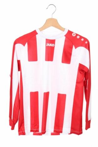 Детска спортна блуза Jako, Размер 11-12y/ 152-158 см, Цвят Бял, Полиестер, Цена 25,50лв.