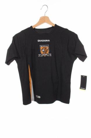 Παιδικό μπλουζάκι Diadora, Μέγεθος 7-8y/ 128-134 εκ., Χρώμα Μαύρο, Πολυεστέρας, Τιμή 2,97€