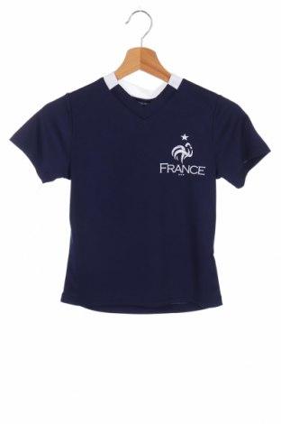 Детска тениска FFF France, Размер 6-7y/ 122-128 см, Цвят Син, Полиестер, Цена 5,60лв.