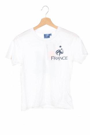Детска тениска FFF France, Размер 11-12y/ 152-158 см, Цвят Бял, Памук, Цена 3,36лв.