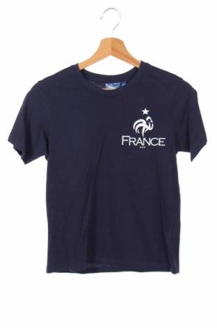 Детска тениска FFF France, Размер 11-12y/ 152-158 см, Цвят Син, Памук, Цена 21,00лв.