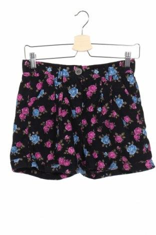 Pantaloni scurți de copii Design By Kappahl, Mărime 12-13y/ 158-164 cm, Culoare Negru, Bumbac, Preț 19,73 Lei