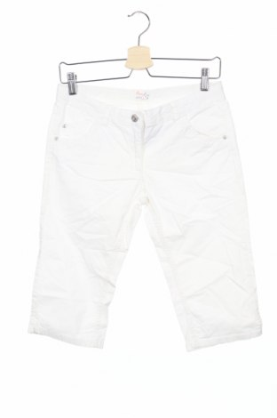 Детски панталон Alive, Размер 13-14y/ 164-168 см, Цвят Бял, 98% памук, 2% еластан, Цена 3,68лв.