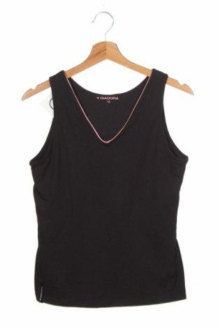 Детски потник Diadora, Размер 14-15y/ 168-170 см, Цвят Черен, 60% полиестер, 32% памук, 8% еластан, Цена 3,45лв.