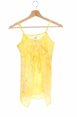 Детски потник Here+There, Размер 12-13y/ 158-164 см, Цвят Жълт, Полиестер, Цена 3,36лв.
