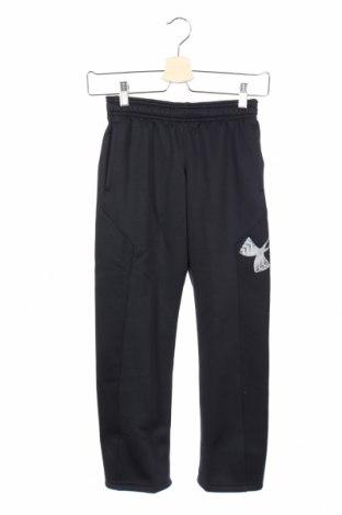 Dziecięce spodnie sportowe Under Armour, Rozmiar 7-8y/ 128-134 cm, Kolor Czarny, Poliester, Cena 73,75zł