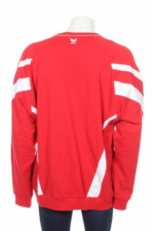 Мъжка блуза Erima, Размер 3XL, Цвят Червен, 80% памук, 20% полиестер, Цена 36,75лв.