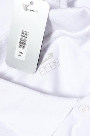 Мъжка блуза Jako, Размер L, Цвят Бял, 95% памук, 5% еластан, Цена 14,70лв.