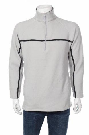 Мъжка поларена блуза, Размер M, Цвят Сив, Полиестер, Цена 31,50лв.