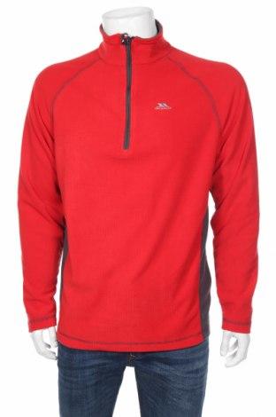 Мъжка поларена блуза Trespass, Размер S, Цвят Червен, Полиестер, Цена 18,40лв.