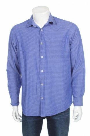 Мъжка риза Royal Class, Размер L, Цвят Син, Памук, Цена 4,50лв.