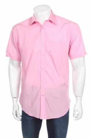 Pánská košile  Russell Collection, Velikost S, Barva Růžová, 67% textile , 33% bavlna, Cena  187,00Kč