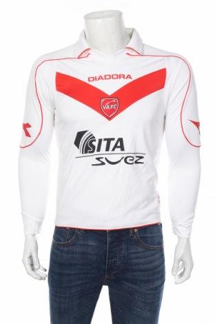 Мъжка спортна блуза Diadora, Размер S, Цвят Бял, 100% полиестер, Цена 36,75лв.