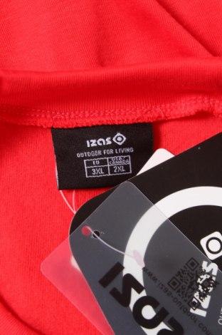 Мъжка спортна блуза Izas, Размер XXL, Цвят Червен, 100% полиестер, Цена 14,70лв.