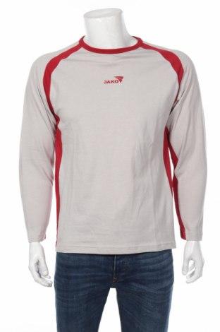 Мъжка спортна блуза Jako, Размер M, Цвят Сив, Памук, Цена 19,60лв.